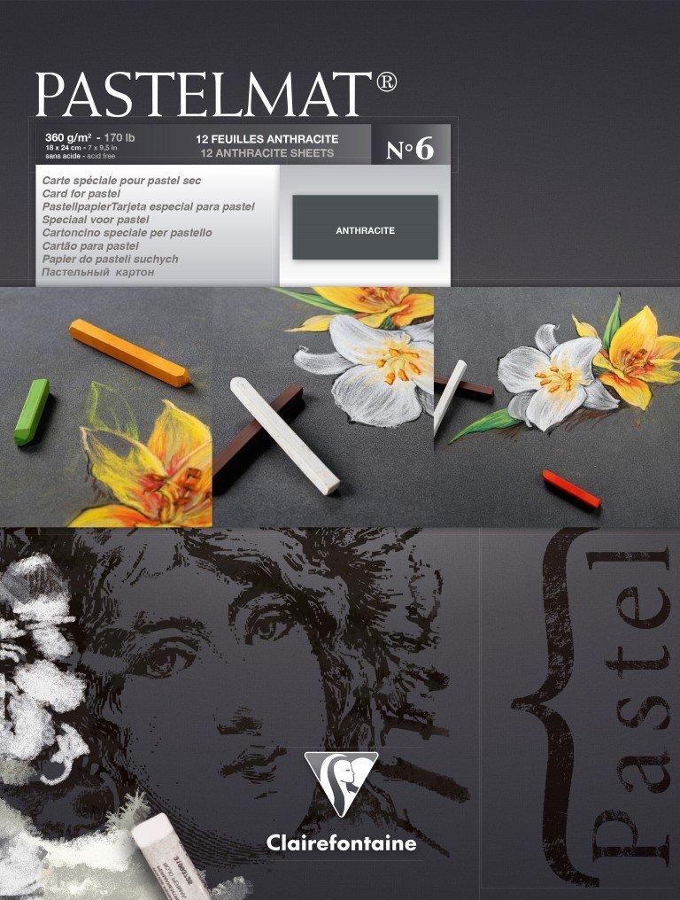 Clairefontaine 96018C Zeichenblock Pastelmat (12 Blatt, 30 x 40 40 40 cm, 360 g, mit 4 transparenten Trennblättern, Spezielkarton ideal fur Pastell und Kreide) hellgelb, gelb, dunkelgrau und hellgrau B071RCF1VG  | Zuverlässige Leistung  56dbb8