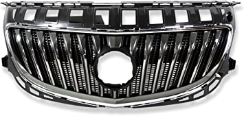 Front Upper Bumper Chrome Radiator Grille Grill For Buick Regal 2014 2015 2016