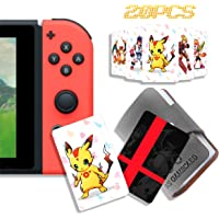 20 Pcs NFC Tag Game Cards for Super Smash Bros. Ultimate (SSBU), Compatible for Switch/Wii U/3DS XL with Portable…