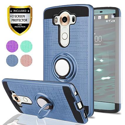 Amazon.com: Ymhxcy - Carcasa para LG V10 (con protector de ...