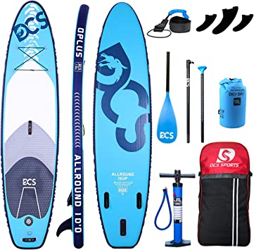 Airgymfactory Inflatable Stand Up Paddle Boards Premium SUP Accessories & Carbon Fiber Adjustable Paddle & Inflation and Deflation Double Action Bravo ...