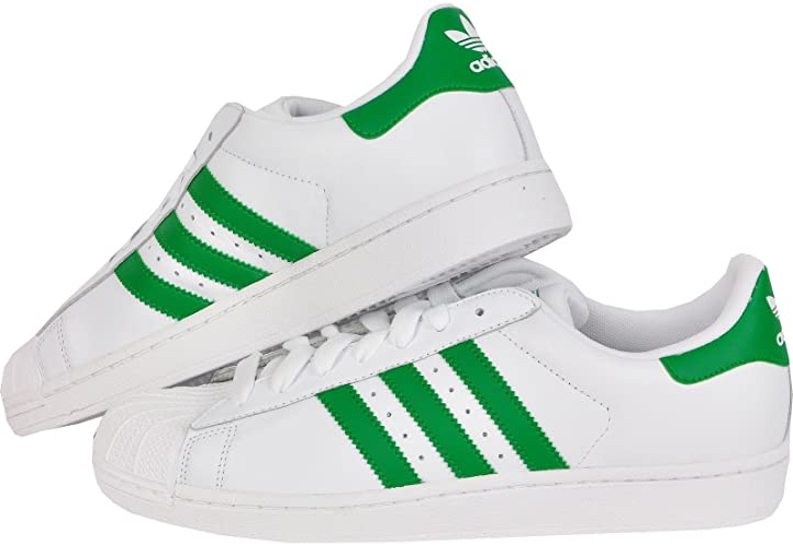 adidas superstar verdi uomo