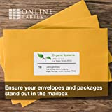 4 x 2 Mailing Labels - Pack of 1,000 Labels, 100