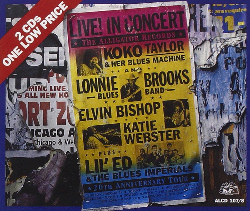 Alligator Records 20th Anniversary Tour - Live! In Concert