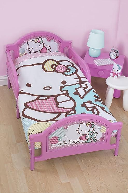 Amazon.com: Hello Kitty Junior juego de funda de edredón y ...
