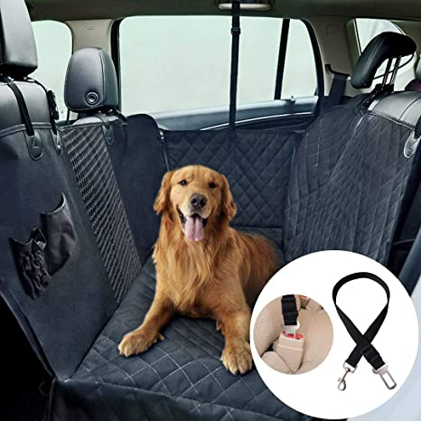 Dog Car Seat Cover View Mesh Waterproof Pet Carrier Car Rear Back Seat Mat Hammock Pet Car Back Seat Cover Protector Mat Easy To Lubricate Dog Doors, Houses & Furniture