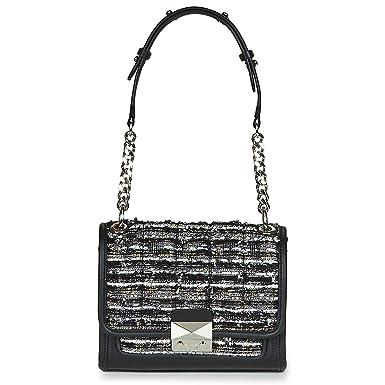 f2fefd1944c49 Karl Lagerfeld K KUILTED Tweed SMALL Handbag Handtaschen Damen Schwarz -  Einheitsgrösse - Umhängetaschen