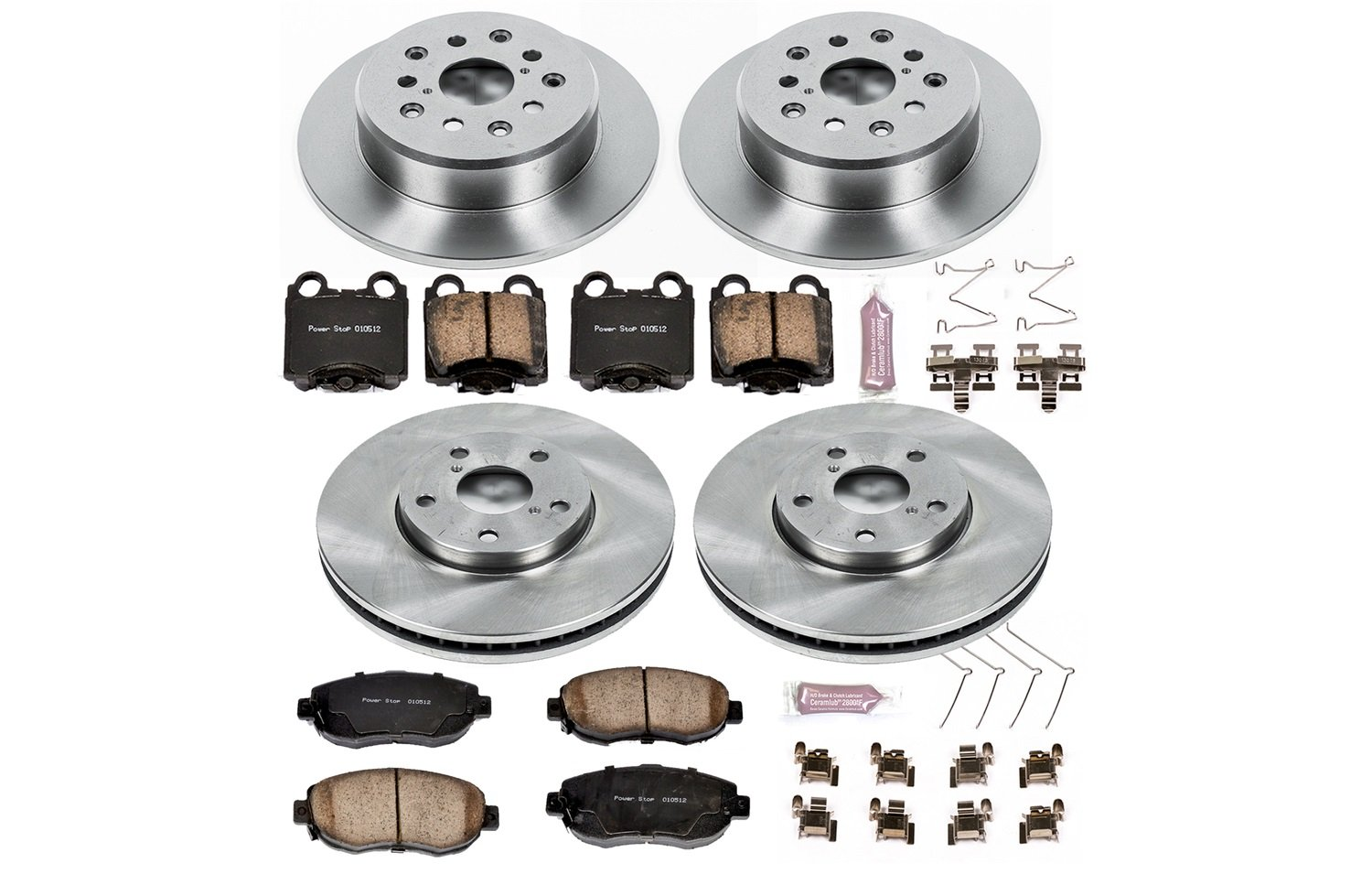 Autospecialty KOE1079 1-Click OE Replacement Brake Kit Power Stop