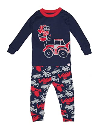 8e1a98d87 Amazon.com  GAP Baby Boys Truck Sleep Pajama Set Red  Clothing