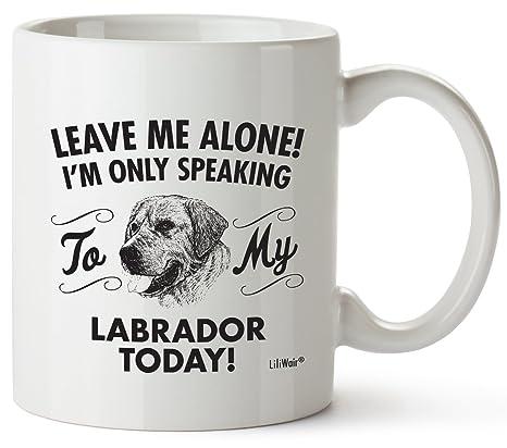 Amazon.com: Labrador mamá regalos taza mujeres hombres Papá ...