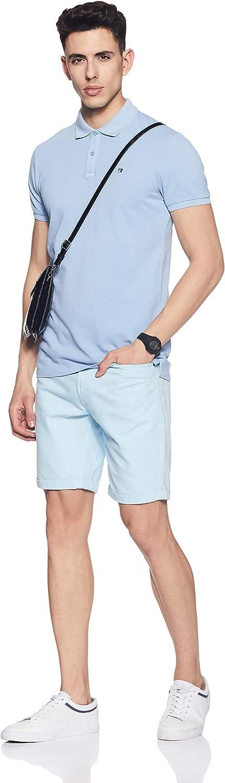 Scotch /& Soda Mens Classic Garment-Dyed Pique Polo