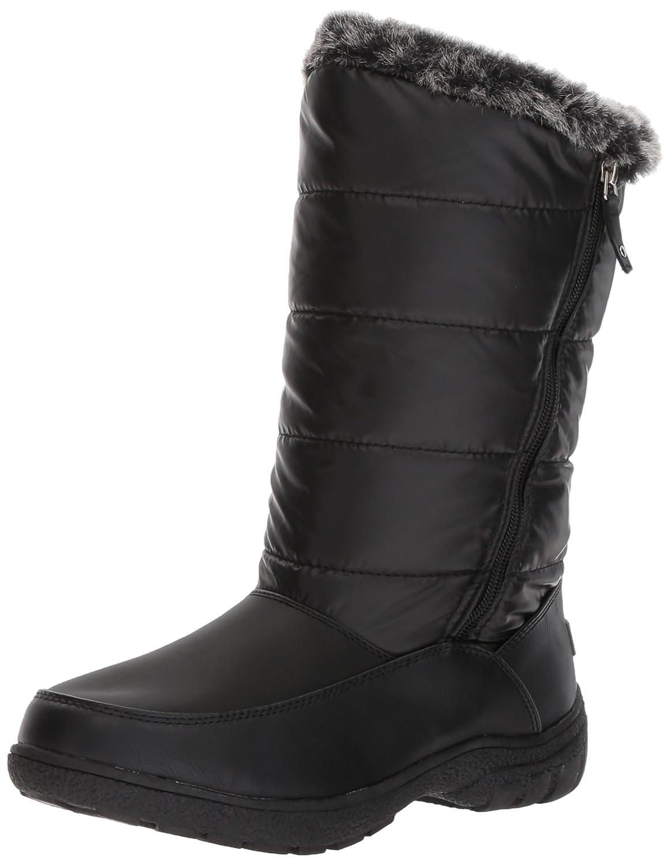 Sugar Women's Lucille Tall Shaft Faux Fur Waterproof Snow Winter Weather Boot B076BZLRT1 8 B(M) US|Black