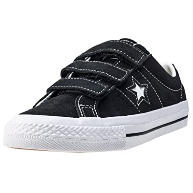 23ba3c809fa3 Converse One Star 3v Ox Kids Trainers  Amazon.co.uk  Shoes   Bags