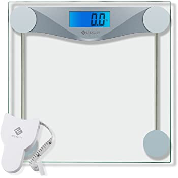 Weight Watchers By Conair Digital Glass Bathroom Scale 400 Lb Capacity High