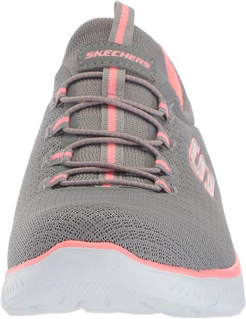 Skechers Damen 12980 Sneaker, Grau (GreyPink), 40 EU