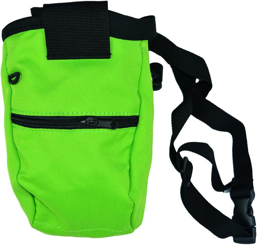 Bolsas de magnesio Escalada tiza bolsas para escalada en roca, levantamiento de pesas, para escalada, gimnasia y antideslizante al aire libre ...