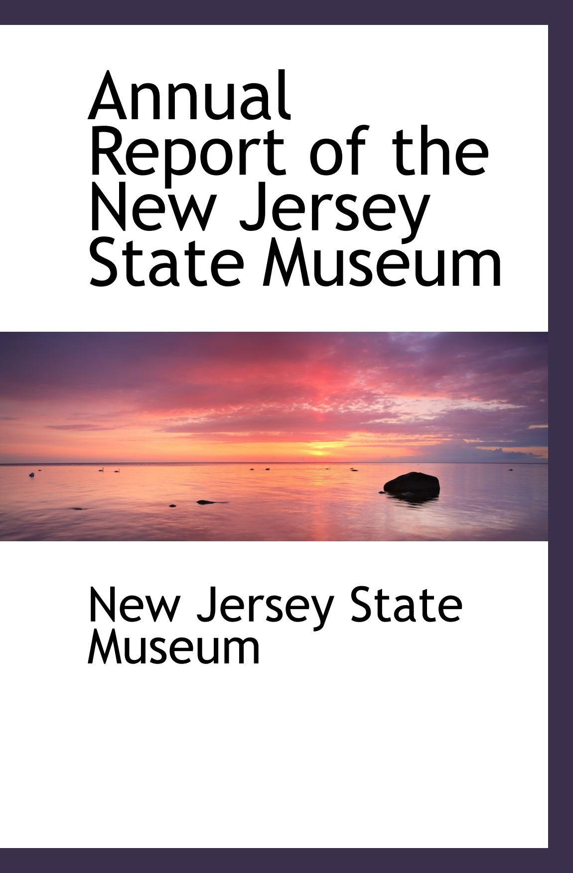 Download Annual Report of the New Jersey State Museum pdf