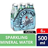 San Pellegrino Sparkling Water, 500ml, 6 Pieces