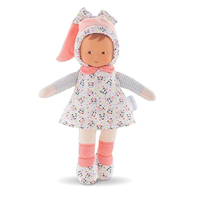 Corolle mon doudou Miss Happy Panda Toy Baby Doll, Pink: Toys & Games