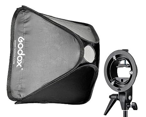 Godox scuv6060 softbox s comet con supporto e custodia per flash