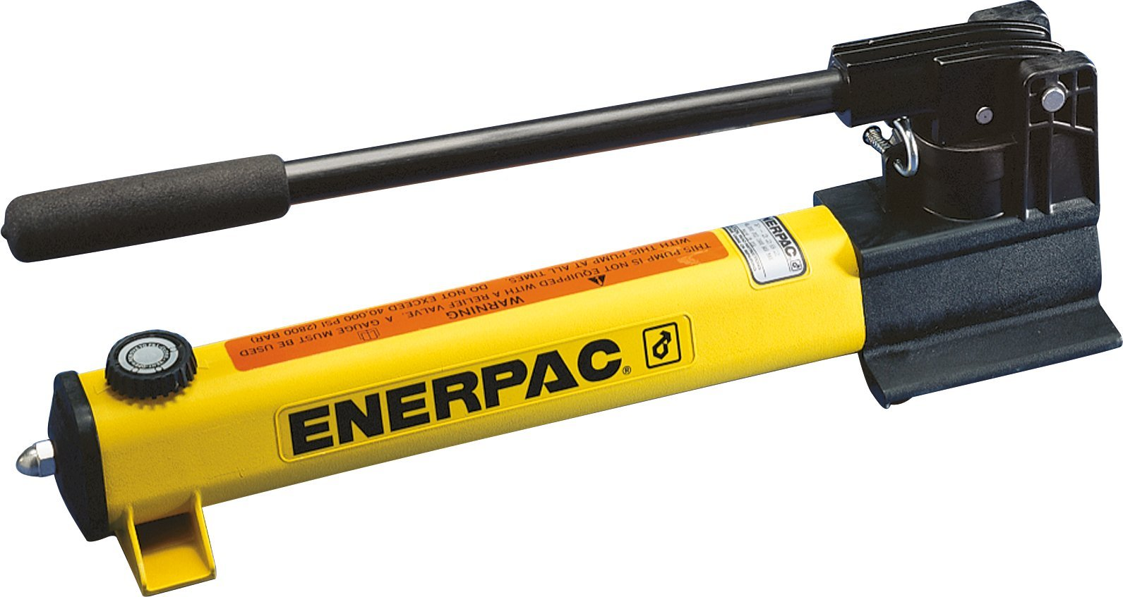 Enerpac P-2282 Ultra High Pressure Hand Pump with 40,000 Pounds Per Square Inch