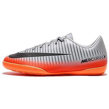 Nike JR Mercurialx Victry 6 CR7 IC Zapatillas, Niños, Gris, 32: Amazon.es: Deportes y aire libre