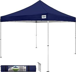 Caravan Canopy Sports 21008100060, 10x10, Navy Blue