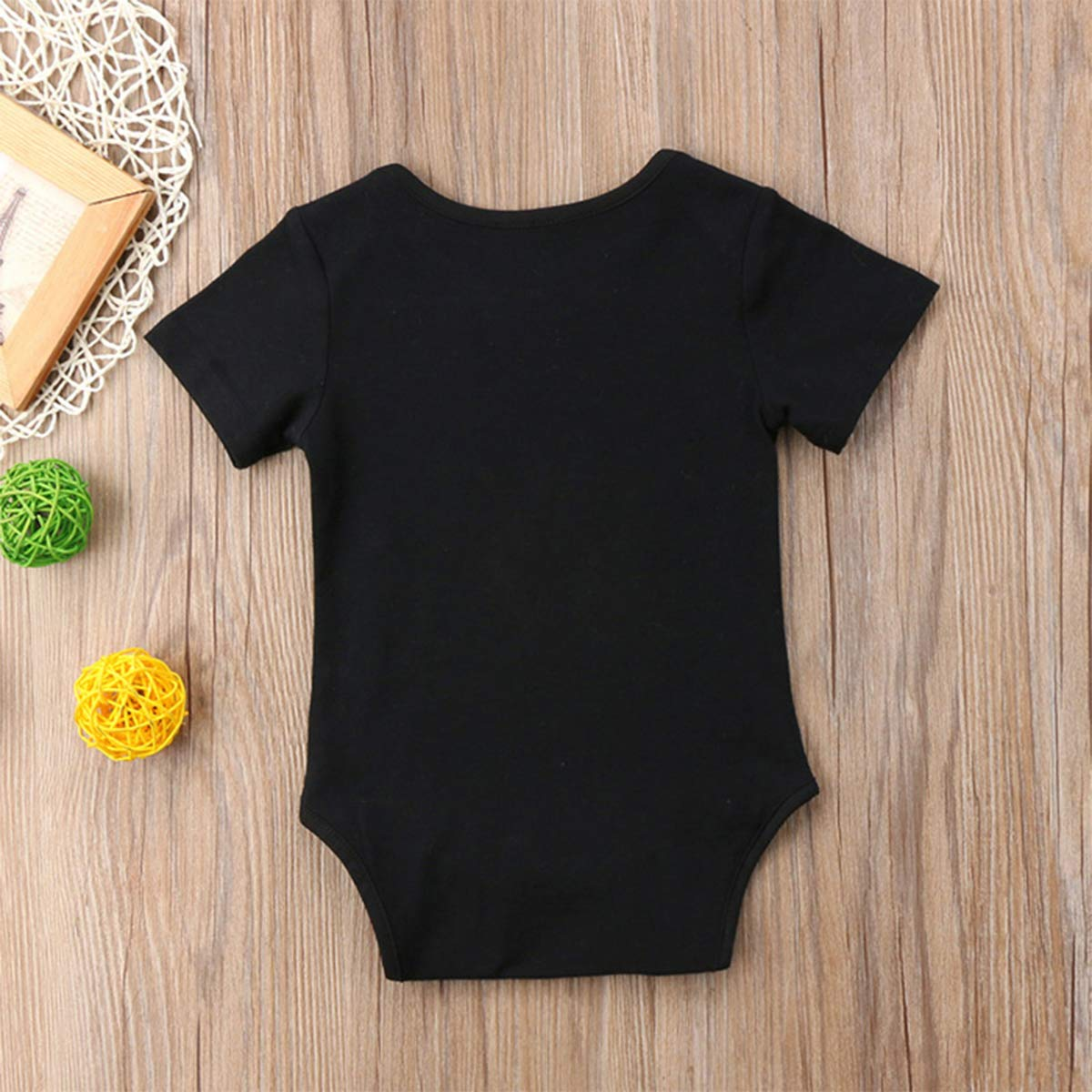 ZP-CCYF I Dont Wanna Taco Bout It Newborn Baby Bodysuit Cute Short Sleeve Romper Outfits