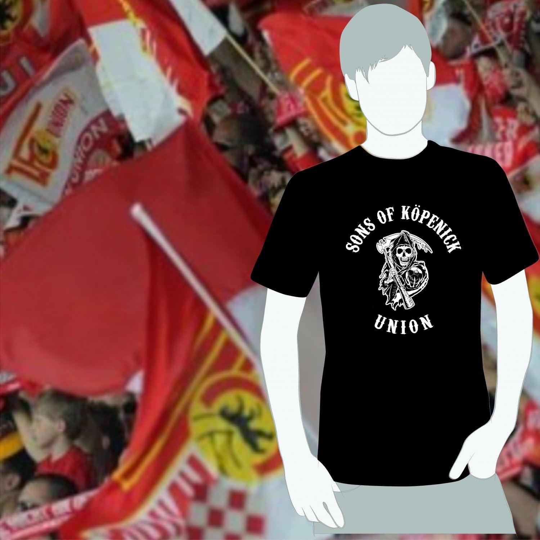 World of Football T-Shirt sons of K/öpenick Union schwarz