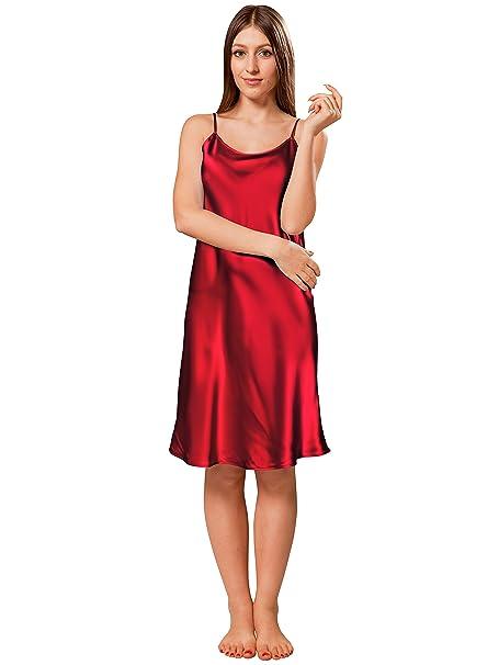 a592a5e356b ElleSilk Women s Silk Slip