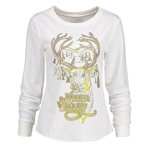 EUZeo_Women Blouse - Camisas - Moda - Manga Larga - para mujer