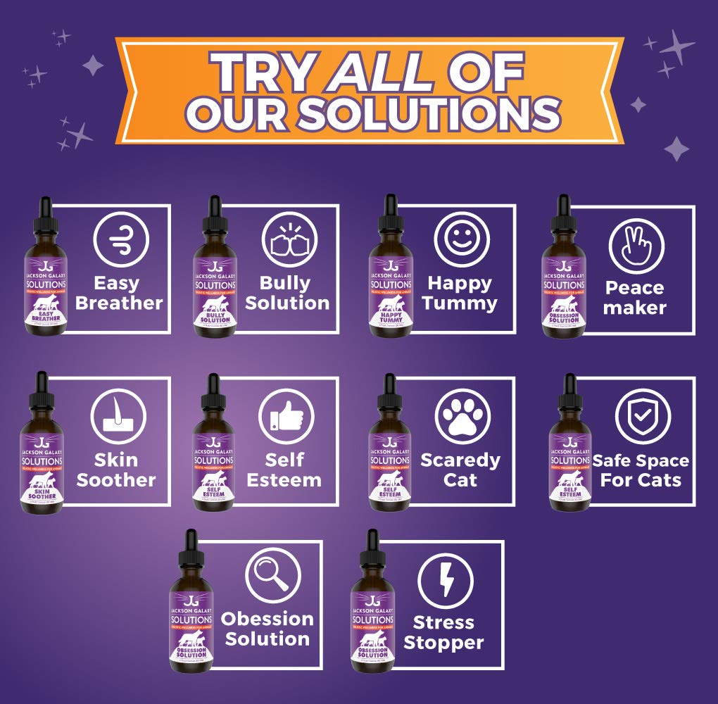 Jackson Galaxy: Peacemaker (2 oz.) - Pet Solution - Promotes Sense of Community - Can Reduce Aggression, Tension, Jealousy - All-Natural Formula - Reiki Energy 6