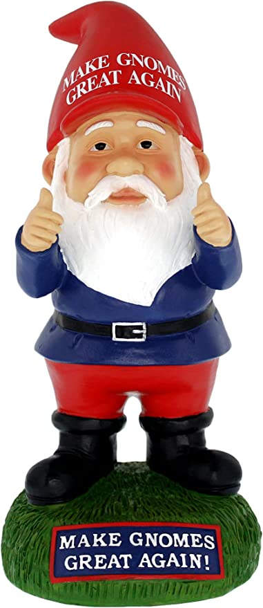 10 Inch Trump Garden Gnome Makes Your Garden Desk and Home Great Again