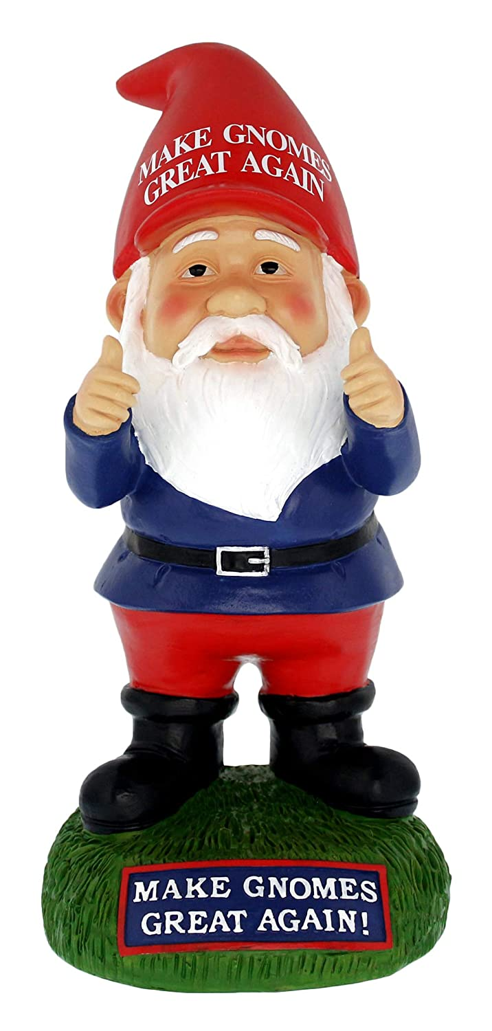 "Gnometastic ""Make Gnomes Great Again Garden Gnome 