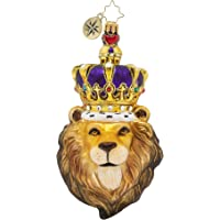 Christopher Radko Hand-Crafted European Glass Christmas Ornament, Roaring Royalty
