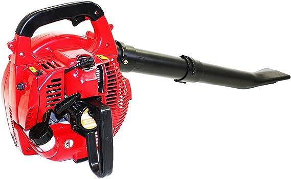 Bricoferr BF032A Soplador aspirador con motor a gasolina (26cc, 0 ...