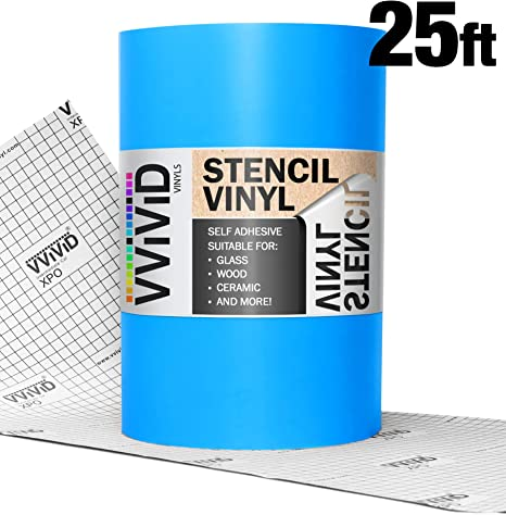 Oracal ORAMASK 813 Stencil Film 12 Inch x 20 Foot Roll 20ft x 1ft