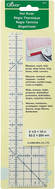 Clover 7811 Hot Ruler Press Perfect