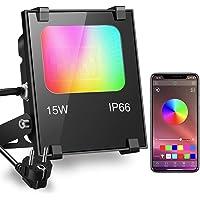 iLC Foco LED RGB de Colores 15W Inteligente Controlado por la Aplicación de Teléfono…