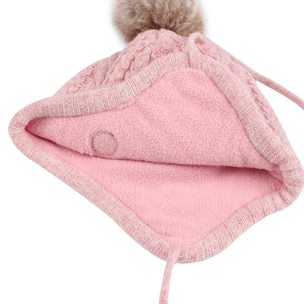 Berretto in maglia per bebè b063796121fb