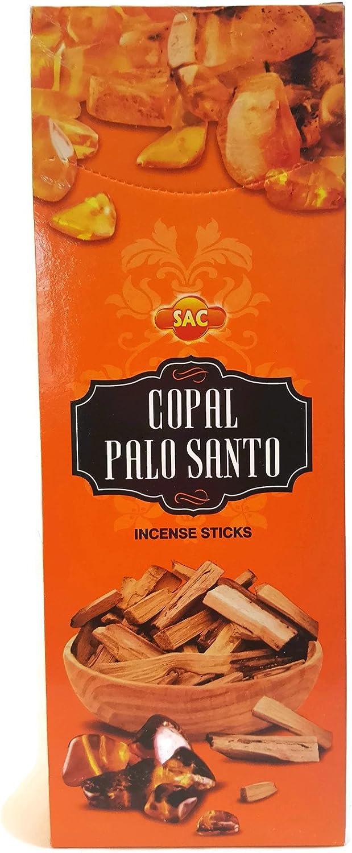 Incienso Copal Palo Santo Sac 120 varillas aromáticas
