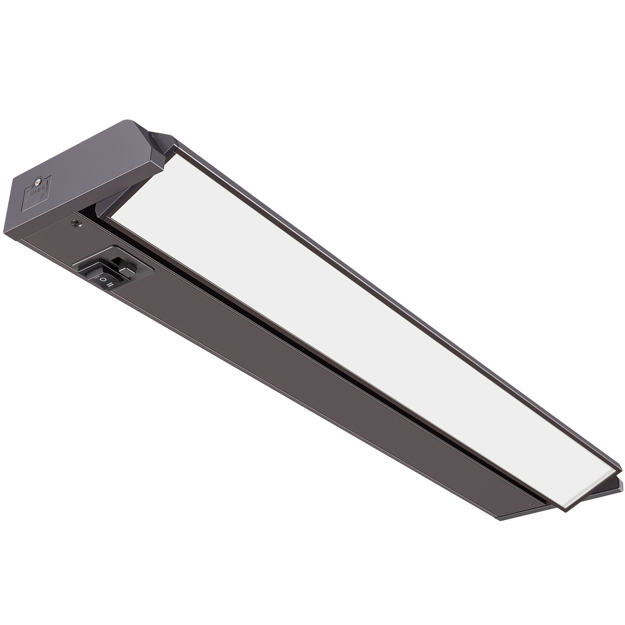 GetInLight 3 Color Levels Swivel LED Under Cabinet Light, Dimmable, Hardwired/Plug-in, Warm White(2700K), Soft White(3000K), Bright White(4000K), Bronze Finished, 18-inch, IN-0202-2-BZ by GetInLight