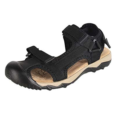 4HOW Mens Closed Toe Sport Sandal Non Slip Outdoor Shoes | Sandals