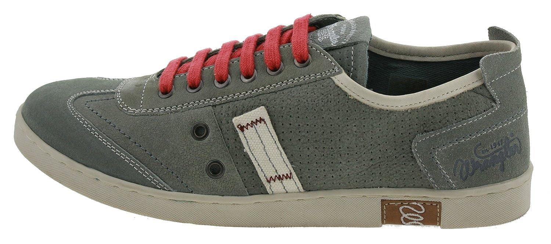 Wrangler True 2 Sneaker Leder denim blau