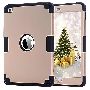 Funda iPad mini 4, BENTOBEN Funda para iPad Mini 4 Apple Carcasa Cover Case Ultra Delgada Lightweight Súper protección Antigolpes Antichoque PC ...