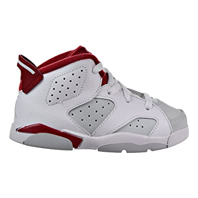 low priced 70318 3dafe Amazon.com | Jordan 6 Retro BT Infants/Toddlers Shoes White ...