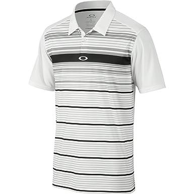 Oakley Polo de Legado, Hombre, Color Blanco, tamaño Medium: Amazon ...
