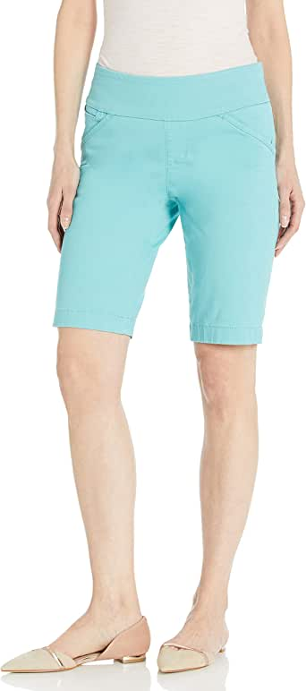 Jag Jeans Women's Ainsley Pull on Classic Fit Bermuda Short