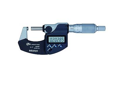 Mitutoyo 293 – 340 – 30 Digimatic refrigerante prueba micrometre con trinquete Stop sin SPC,