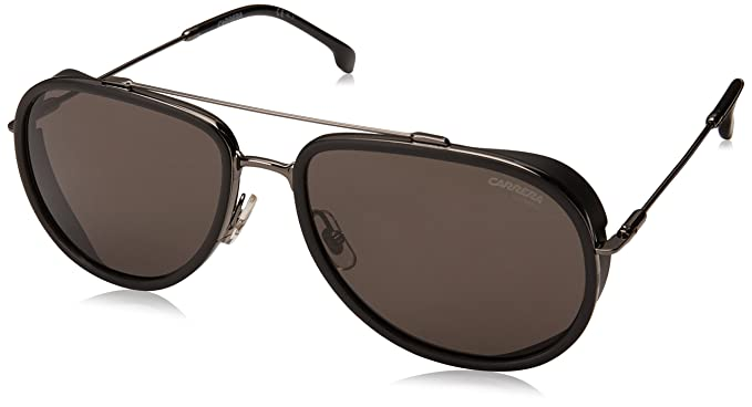 c624a2f815 Amazon.com  Carrera Men s 166 s Aviator Sunglasses Dark Ruthenium 59 ...